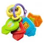 Jucarie Lamaze CMY40 Chei Fisher Price (Multicolor)