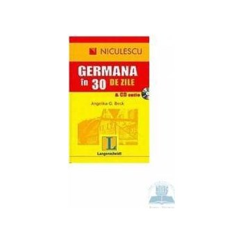 Germana in 30 de zile + CD audio - Angelika G. Beck 973-748-244-0