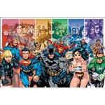 Poster - Justice League Characters - DC Comics
