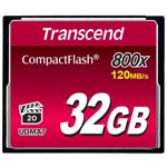 Card memorie Transcend CompactFlash Card 32 GB CF800X