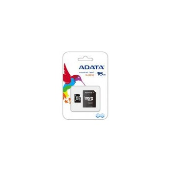Card A-DATA de memorie microSDHC 16GB Class 4 + Adaptor SD