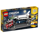 LEGO Creator 3-in-1 Shuttle Transporter Building Set - 31091
