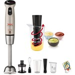 Mixer vertical TEFAL Infiny Force HB866A, 20 + Turbo, 0.8l, 700W, argintiu
