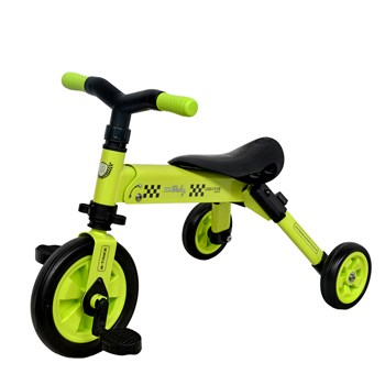 Tricicleta 2 in 1 Dhs B-Trike Green