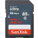 Memory card SanDisk Ultra SDHC 32GB CL10 UHS1, Up to 48MBs