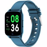 Smartwatch iHunt Watch ME 2020 Notificari Pedometru Puls Monitorizare somn iOS-Android Blue ihunt-watchme2020_blue