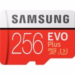 Card Micro SD Samsung, MB-MC256GA/EU, EVO Plus, 256 GB