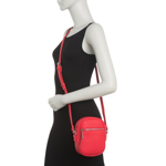 Genti Femei Co-Lab Pebble Camera Crossbody Bag CANDYAPPLE