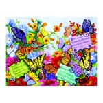 Puzzle SunsOut - Butterfly Oasis, 500 piese (Sunsout-62908)