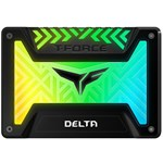 SSD Teamgroup Team Group SSD T-Force Delta RGB 250GB 2.5'', SATA III, 560/500 MB/s, Black