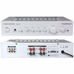 AMPLIFICATOR STEREO 2X80W RMS, ALB