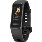 Bratara fitness HUAWEI Band 4 B29, Android/iOS, Monitorizare SpO2, silicon, Sport Band Graphite Black