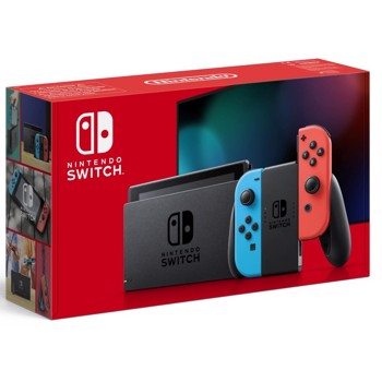 Consola NINTENDO SWITCH WITH NEON RED and NEON BLUE JOY-CONS HAD - GDG ntn9010089