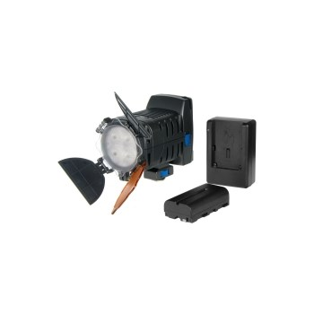 Hakutatz DLV-400 - kit lampa video cu 4 leduri si potentiometru