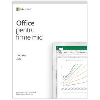 Office Home and Business 2019 English 1 utilizator Windows-Mac T5D-03308