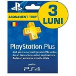 Card abonament PlayStation Plus RO PS4, Membership de 90 zile