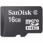 SanDisk Micro Secure Digital Card, 16GB, fara adaptor