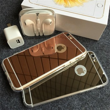 Husa Apple iPhone 7, MyStyle Elegance Luxury tip oglinda, Gold