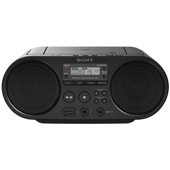 Micro sistem Sony ZS-PS50, CD/MP3 Player (Negru)