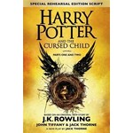 Harry Potter and the Cursed Child - Parts I & II (Special Rehearsal Edition): The Official Script Book of the Original West End Production, by J.K. Rowling , Jack Thorne , John Tiffany