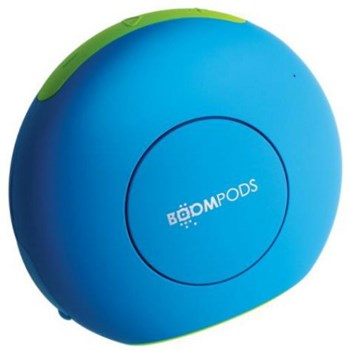 Boxa Boompods Doubleblaster 2 wireless touch panel powerfull bass microphone Blue-Green db2blu