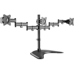 LOGILINK BP0051 LOGILINK - Triple monitor desk stand 13-27 max. 8 kg BP0051