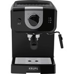 Espressor manual Krups XP320830, 1050 W, 1.5 L, 15 bar, Negru