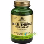 Milk Thistle Herb Extract 60cps (Extract din planta de Silimarina) SOLGAR