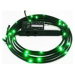Accesoriu carcasa NZXT Sleeved LED Lighting Kit Green