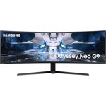 Monitor LED Samsung Gaming Odyssey Neo G9 LS49AG950NUXEN Curbat 49 inch 1 ms Negru HDR FreeSync Premium Pro & G-Sync Compatible 240 Hz
