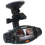 "Camera video auto Smailo Street View, TFT LCD 2.7"", GPS (Negru)"