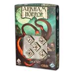 Arkham Horror Dice Set 5D6 beige & black
