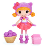 Papusi / Papusa Lalaloopsy Minis - Cheerful - Fluffy Pouncy Paws