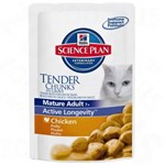 Hill's Sp Feline Mature 7+ Active Longevity cu Pui 85 g