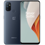 Smartphone OnePlus Nord N100, Ecran 90 Hz, 64GB, 4GB RAM, Dual SIM, 4G, 4-Camere, Baterie 5000 mAh, Android 10, Midnight Frost