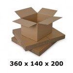 Cutie carton 360x140x200, natur, 5 straturi CO5, 690 g/mp