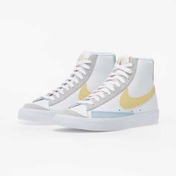 Nike Blazer Mid '77 White/ Lemon Wash-Celestine Blue