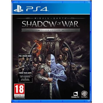 Joc PS4 Middle Earth Shadow of War Silver Edition