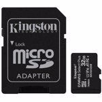 Card de memorie Kingston MicroSD, Canvas Select Plus, 32GB, Class 10, Adaptor