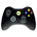 Controller Xbox 360 & PC MICROSOFT JR9-00010, adaptor PC, negru