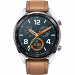 "Smartwatch Huawei Watch GT Fortuna-B19V, Amoled 1.39"", 16MB RAM, 128MB Flash, Bluetooth (Argintiu/Maro)"