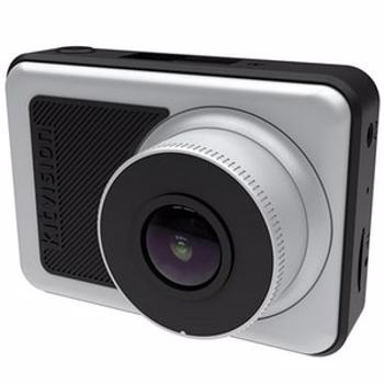 "Camera auto DVR KitVision KVOBS72, HD, ecran 2.45"", unghi de 140 grade, 5MP, argintiu deschis"