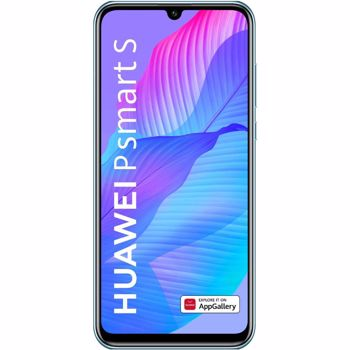 """Nou! Telefon Mobil Huawei P Smart S, Procesor HiSilicon Kirin 710F, Octa Core 2.2GHz/ 1.7GHz, OLED Capacitive touchscreen 6.3"""", 4GB RAM, 128GB Flash, Camera Duala 48MP + 8MP + 2MP, 4G, WI-FI, Dual Sim, Android (Breathing Crystal)"""