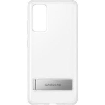 Husa Capac Spate Standing Cover Transparent SAMSUNG Galaxy S20 FE