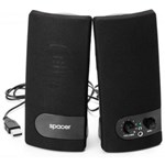 Sistem audio 2.0 Spacer SPB216 6W Black