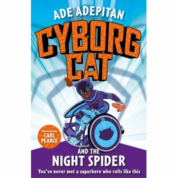 Cyborg Cat and the Night Spider, Paperback