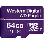 Micro Secure Digital Card Western Digital, 64GB, Clasa 10, purple, fara adaptor