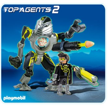 Mega Robot, PLAYMOBIL Top Agents
