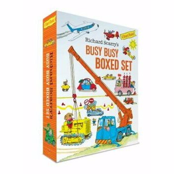 Richard Scarry's Busy Busy Boxed Set (Richard Scarry's BUSY BUSY Board Books)