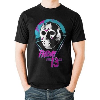 Tricou Friday The 13th Eighties Mask Unisex S
